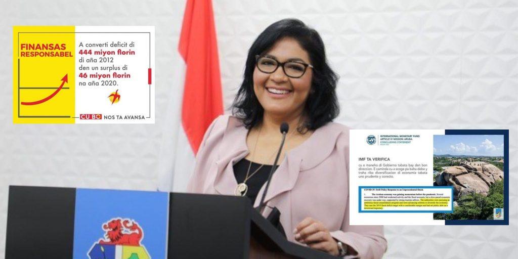 IMF: Aruba cuenta con un manejo financiero responsable