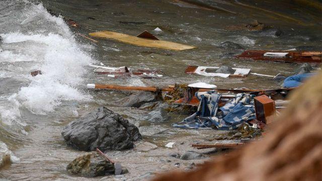 Cuatro muertos deja naufragio en San Diego California