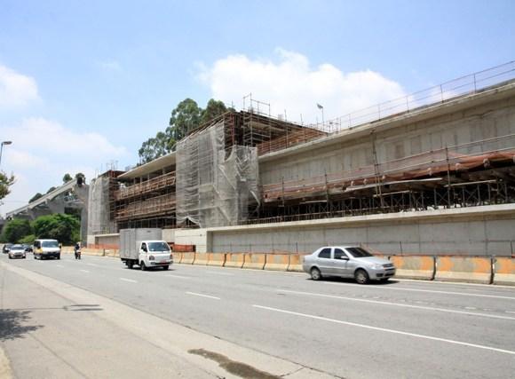 Construção da linha 17-Ouro