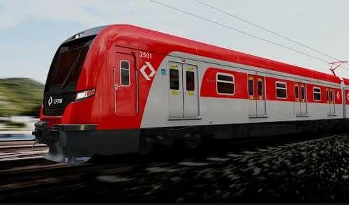 Trem da série 2500 da CPTM