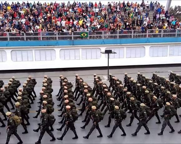 7 de setembro Desfile Cívico