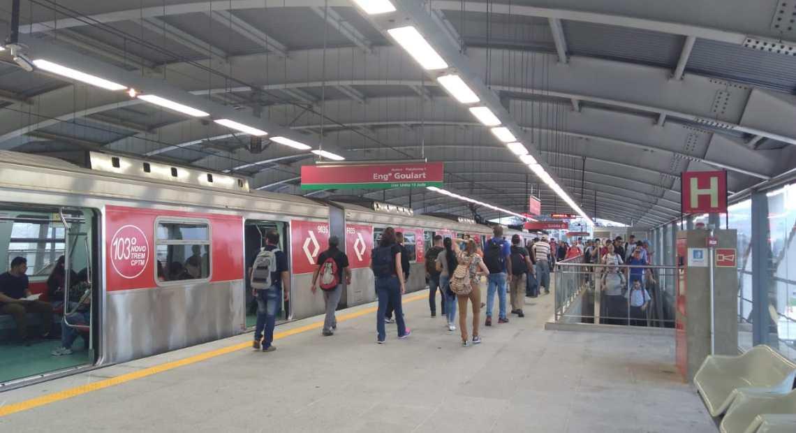 Aeroporto de Guarulhos Linha 13-Jade