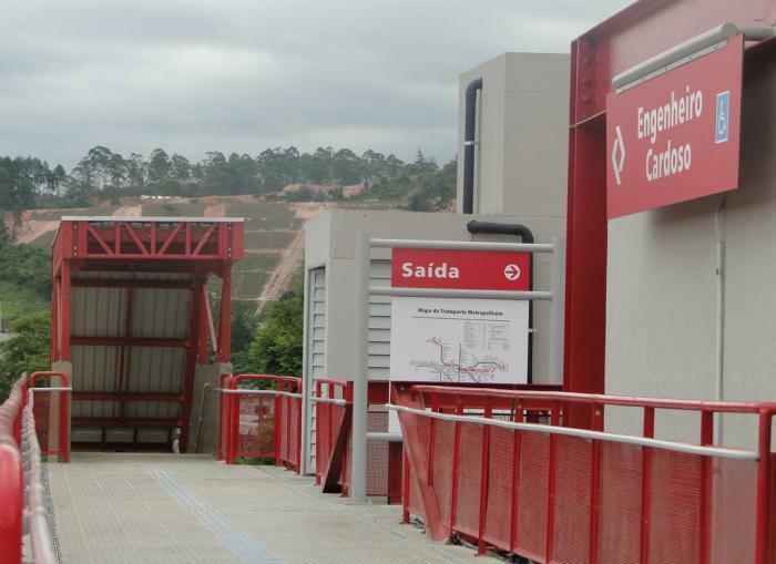 Vigilante Estação Engenheiro Cardoso