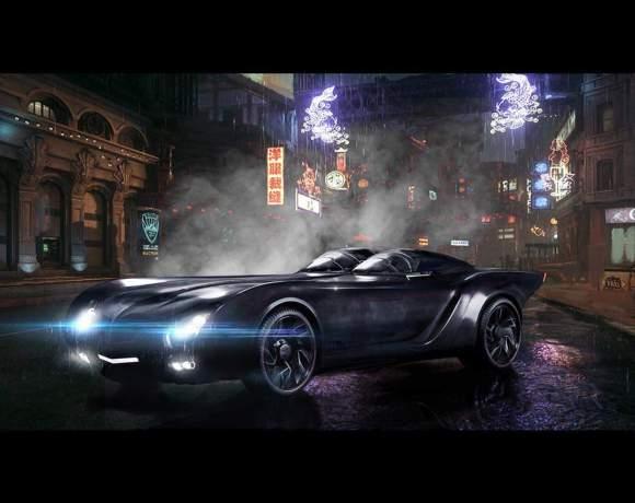Batmóvel da série Titãs