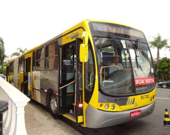 Ônibus da EMTU em Campinas