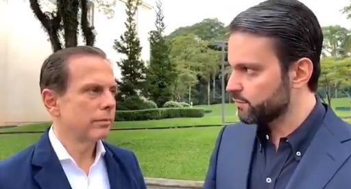 João Doria e Alexandre Baldy