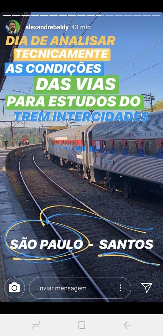 Trem Intercidades