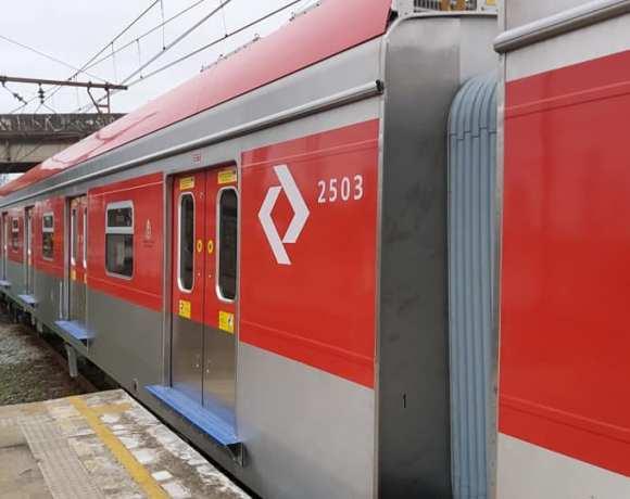 Trem série 2500 da Linha 13 da CPTM