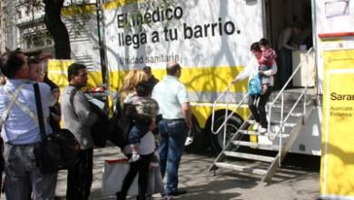 Se realizó un operativo de vacunación contra el sarampión en Plaza Miserere. Foto: Silvina Arrastia-gv/GCBA.