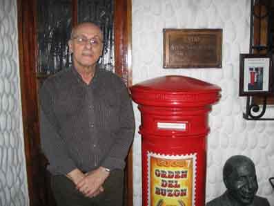 don Gregorio Plotnicki creador de la esquina Manoblanca y de la Orden del Buzón