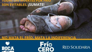 Photo of CERO FRIO: LA CAMPAÑA ARRANCÓ EN LA BOMBONERA