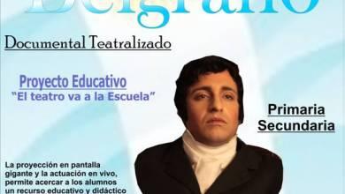 """Photo of Alternativa Educativa presenta su espectáculo """"Manuel Belgrano"""" Documental Teatralizado"""