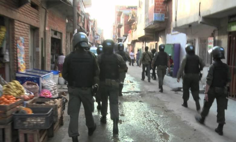 Operativo de Gendarmería (foto de archivo)