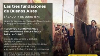 Photo of LAS 3 FUNDACIONES PORTEÑAS