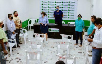 Citlali Medellín y concejo de salud municipal establecen medidas de movilidad ante COVID.