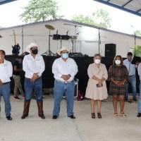 Gobierno de Tuxpan le cumple al El Higo de la Esperanza, inaugura domo para la comunidad.