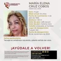 Aparece Maria Elena,Muerta