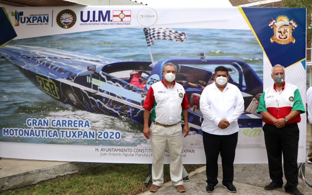 Gobierno del Cambio trae a Tuxpan la Gran Carrera de Motonáutica 2020.