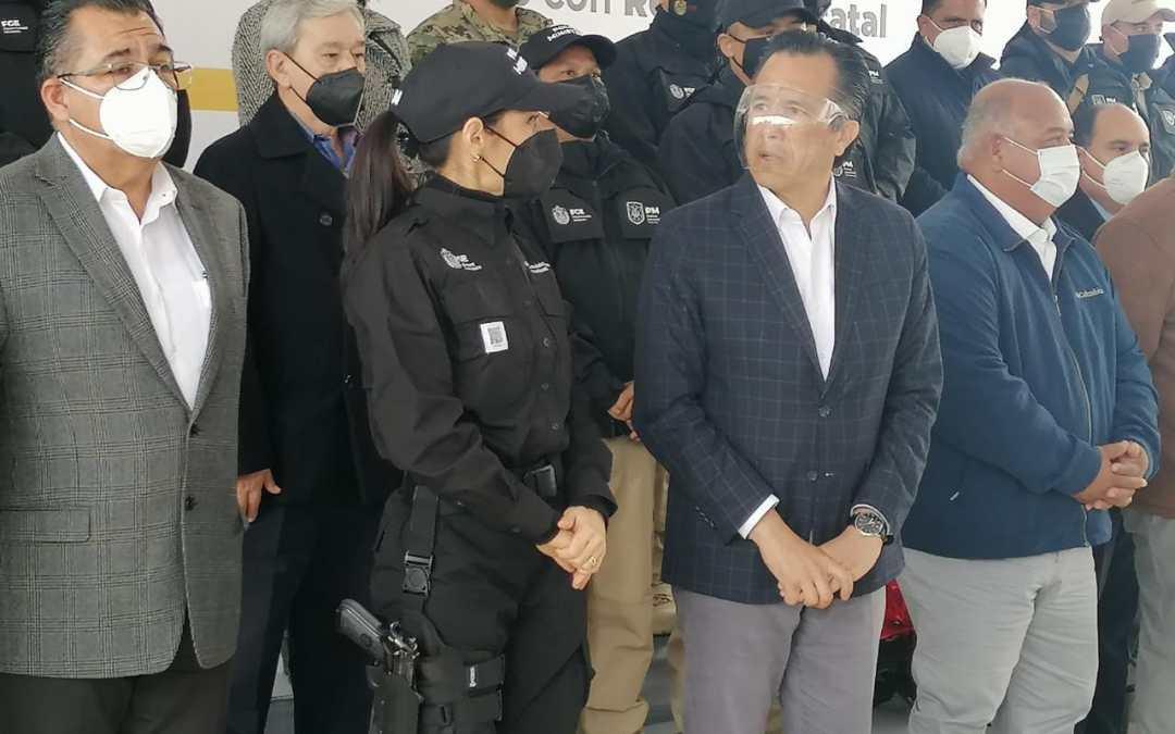 Reconoce Gobernador Cuitláhuac García disminución contundente en delitos de alto impacto en Veracruz