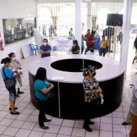 Refuerza Gobierno de Tuxpan medidas preventivas en la Presidencia Municipal.