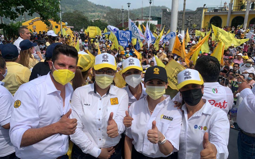 Tihuatlán, Veracruz Adely Morales candidata por el distrito Tres