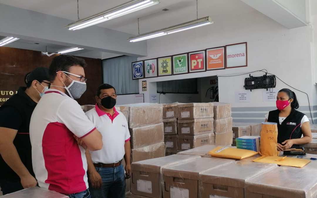 Próxima semana arribarán boletas electorales a Veracruz