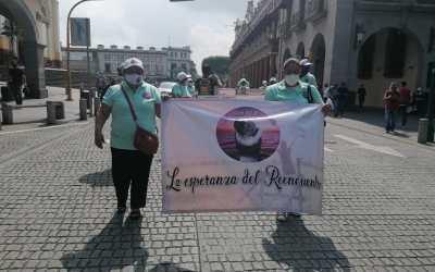 «Que nadie más tenga que estar aquí hoy»: madre de desaparecido