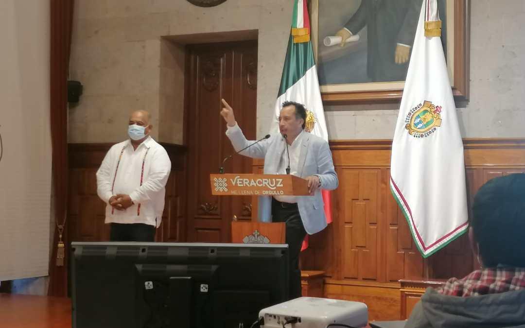 Que no inmiscuyan al gobierno del estado en arengas políticas, pide Cuitláhuac a candidatos