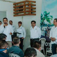 El magisterio respalda el proyecto independientede Everardo Gustin para el 6 de junio.
