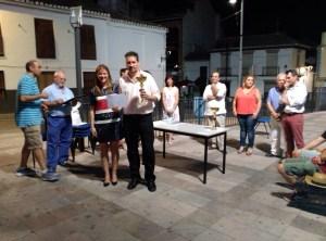 Torneo Nocturno de ajedrez-concejala M.Trini Montes