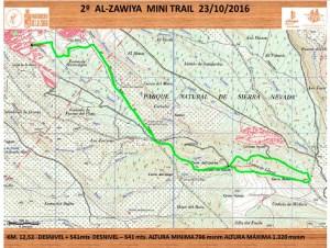 mapa-mini-trail-la-zubia
