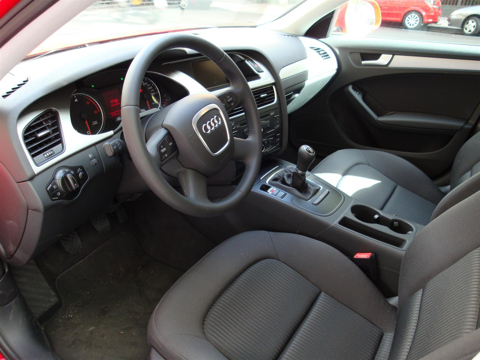 A Prueba Audi A4 20 TDI 120CV