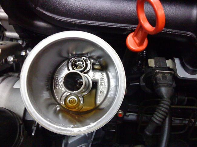 cambio aceite del coche