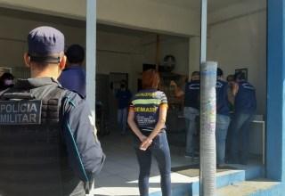 Lojas funcionam irregularmente durante lockdown em Juazeiro do Norte