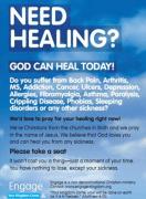 """Inglaterra proíbe propaganda de organização cristão que diz: """"Precisa de cura? Deus pode curá-lo hoje"""""""
