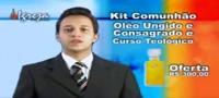 """Igreja oferece """"Kit Comunhão"""" com óleo consagrado e Santa Ceia pelos Correios por R$ 300. Assista"""