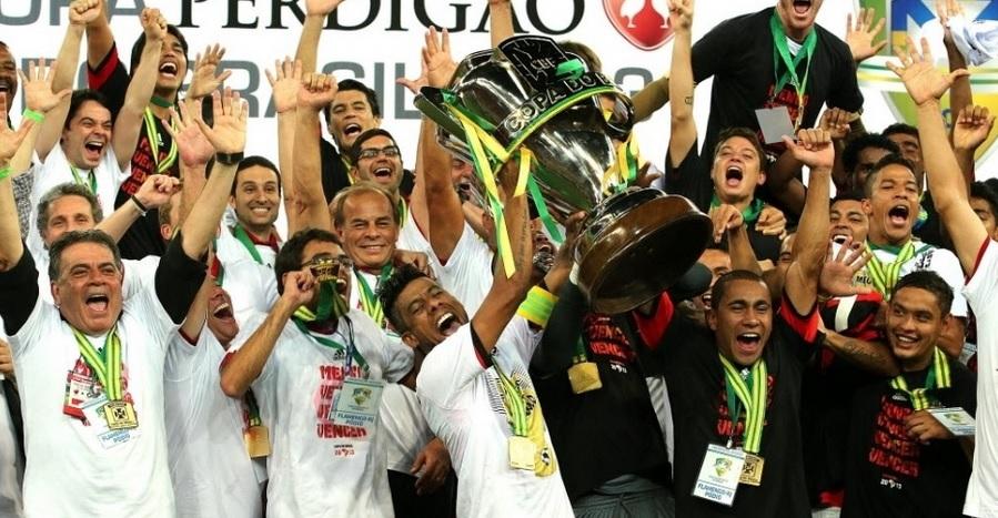 Resultado de imagen para flamengo campeão 2013 copa do brasil