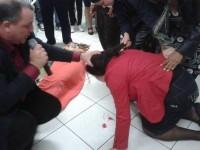 Simone vomita sangue