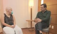 Atriz concedeu entrevista a Geraldo Luís enquanto se recupera do transplante