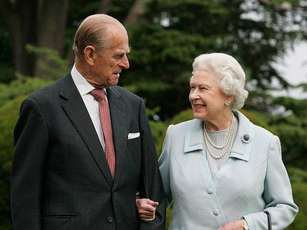 A rainha Elizabeth II e seu marido, Philip, duque de Edimburgo