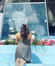 thaila ayala santuario catolico