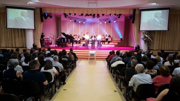 Velório do pastor Russell Shedd na Igreja Bíblica Evangélica da Comunhão