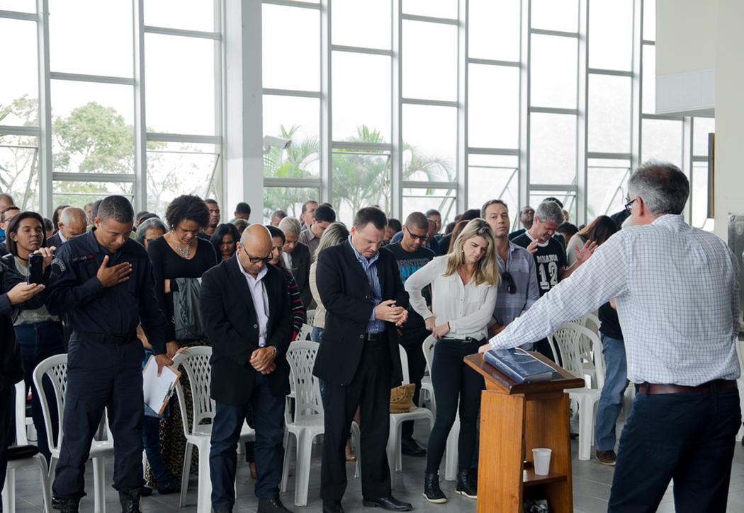 Inauguração da igreja Evangélica dentro da Sede do BOPE no RJ (Reprodução/Gospel Mais).