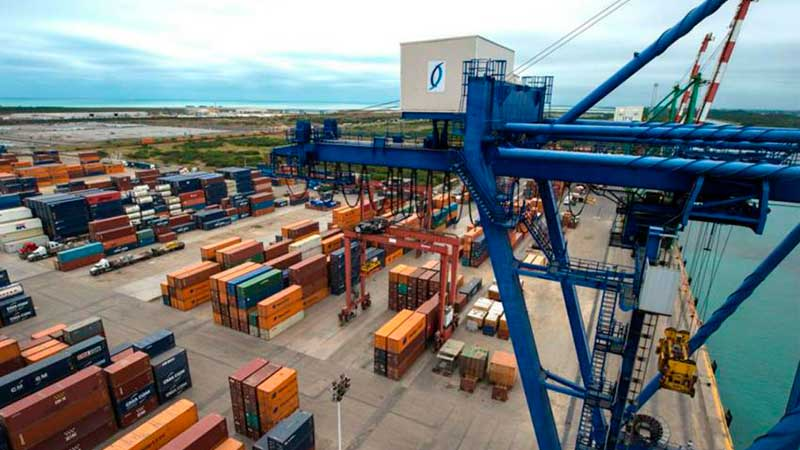 Puertos de México registran 10,4% menos contenedores a noviembre de 2020