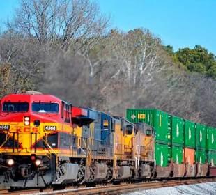 Carga ferroviaria en México cayó 3.17% durante 2020