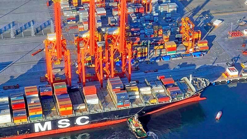 Puerto de Manzanillo movilizó 270 mil TEU's durante enero