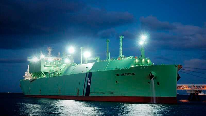 Arribo a Manzanillo nuevo embarque de gas natural