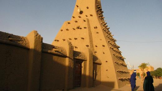 Mezquita Sankore en Tombuctú, Malí, por **El-Len**