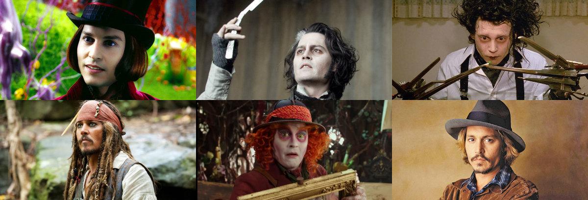 Johnny Depp, las mil caras de la actuación