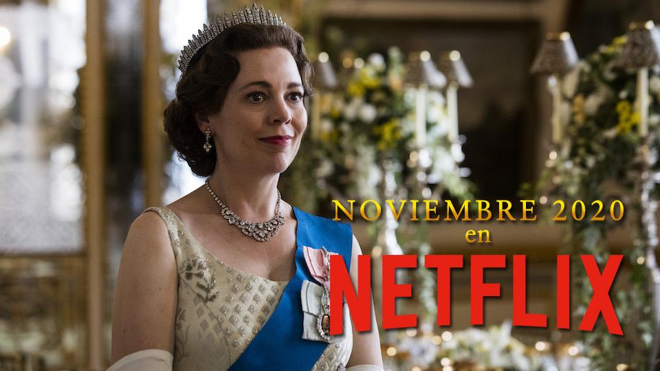 Netflix: lo más importante que llegará en noviembre 2020